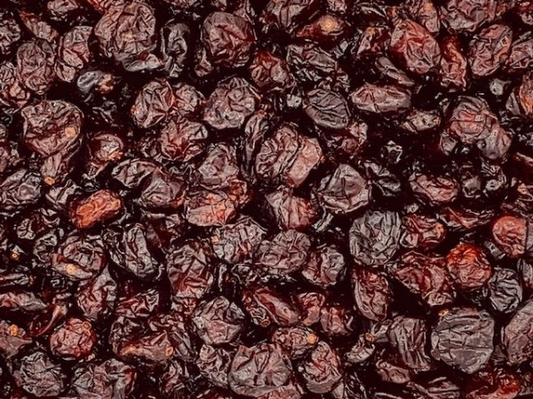 Cranberries mit Apfeldicksaft