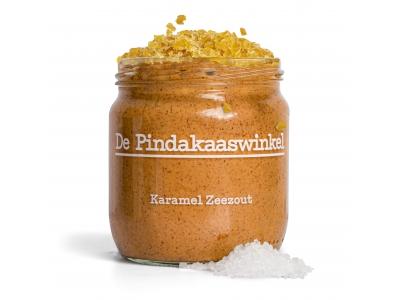 Erdnussbutter-Karamell-Meersalz