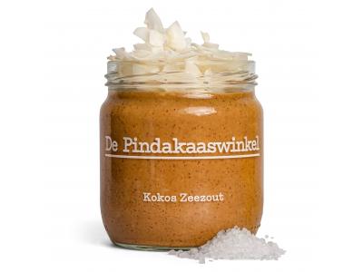 Erdnussbutter-Kokosnuss-Meersalz