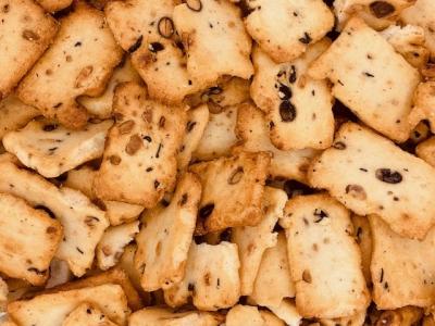 Soja-Nuss-Kekse