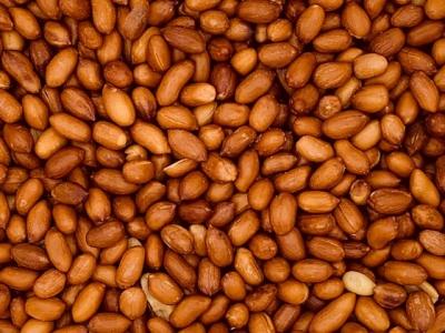 Erdnüsse ganz geröstet, ohne Salz