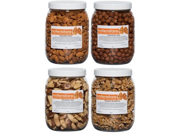 Vorteilspaket Nüsse 1 (Mandeln, Haselnüsse, Paranüsse, Walnüsse)