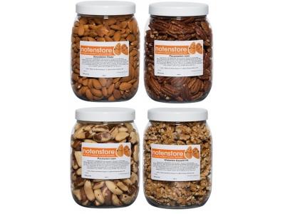 Vorteilspaket Nüsse 2 (Mandeln, Pekannüsse, Paranüsse, Walnüsse)